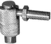 Angle ball joint Quick Release, zinc plated 2